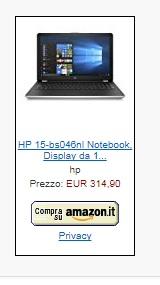 notebook offerta