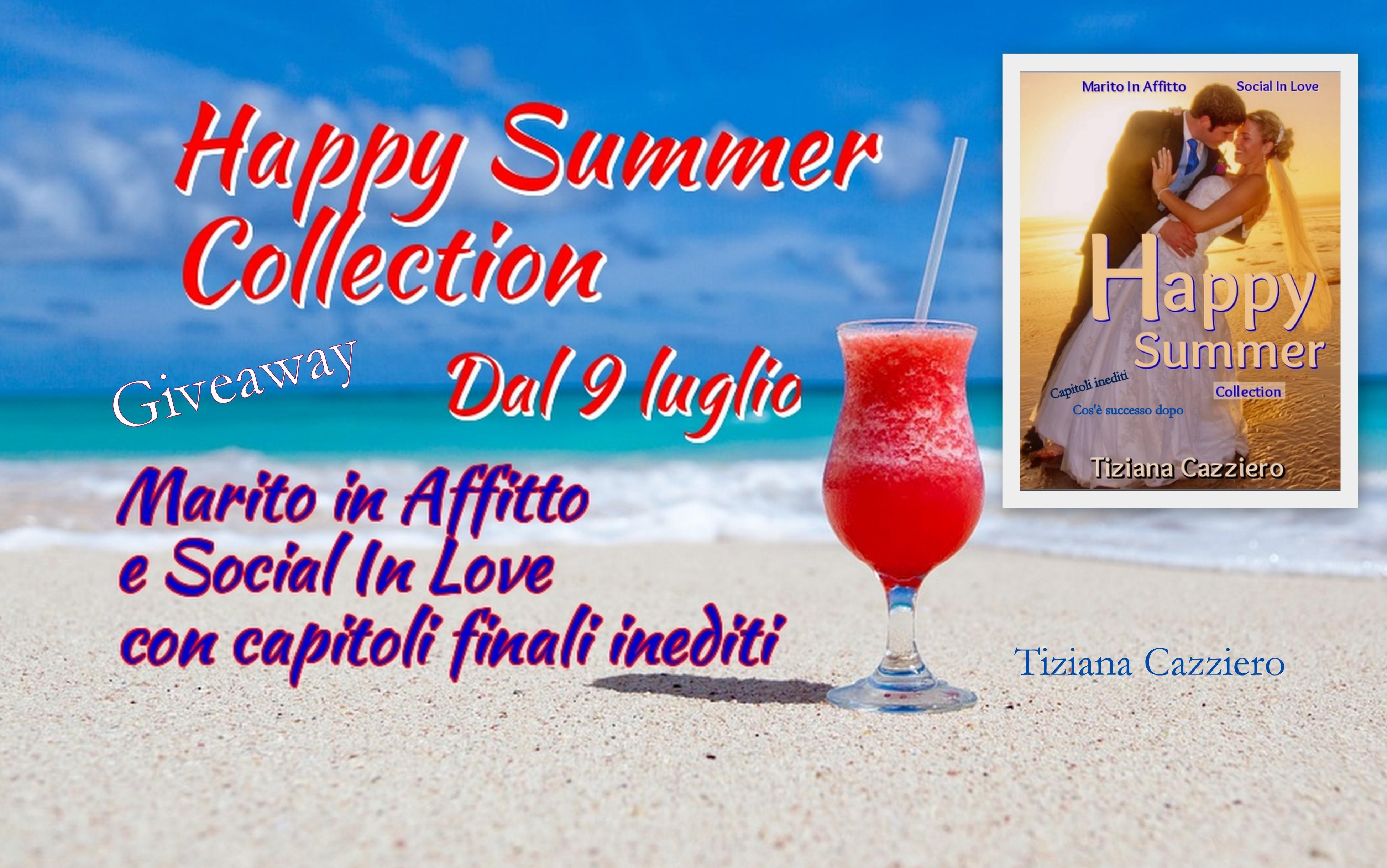 Happy Summer Collection uscita con giveaway il 9 luglio