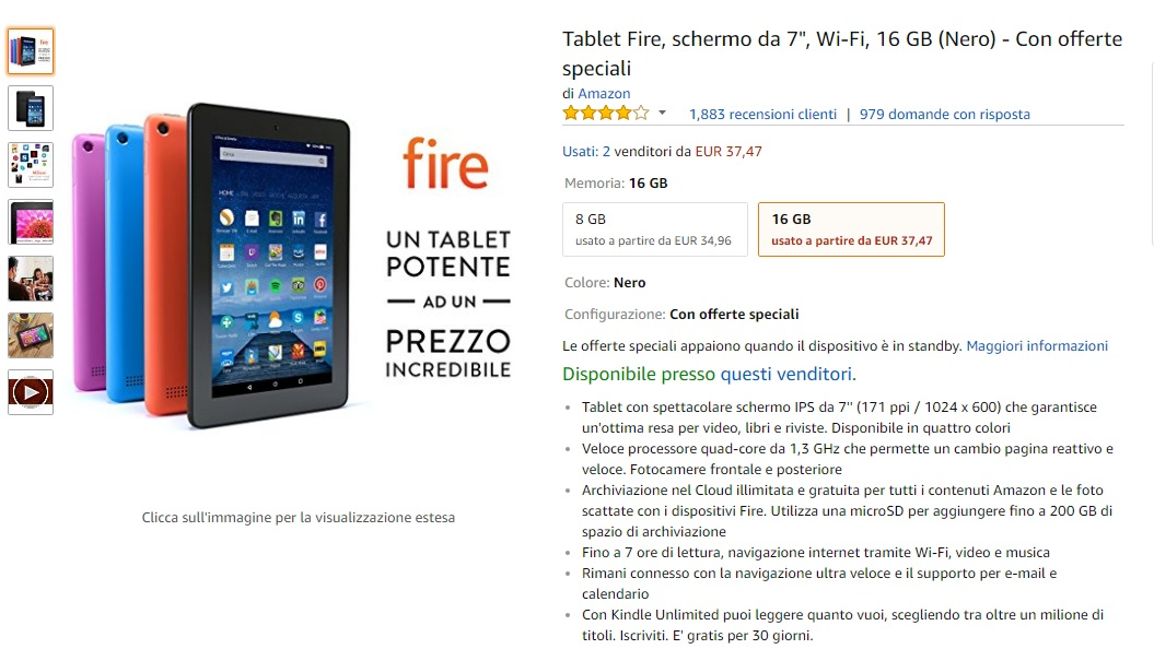 prime fire tablet