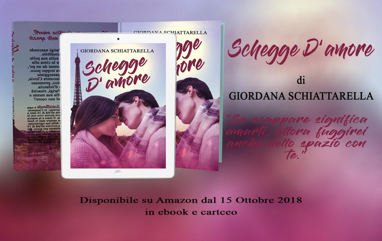Cover Reveal Schegge d'amore di Giordana Schiattarella