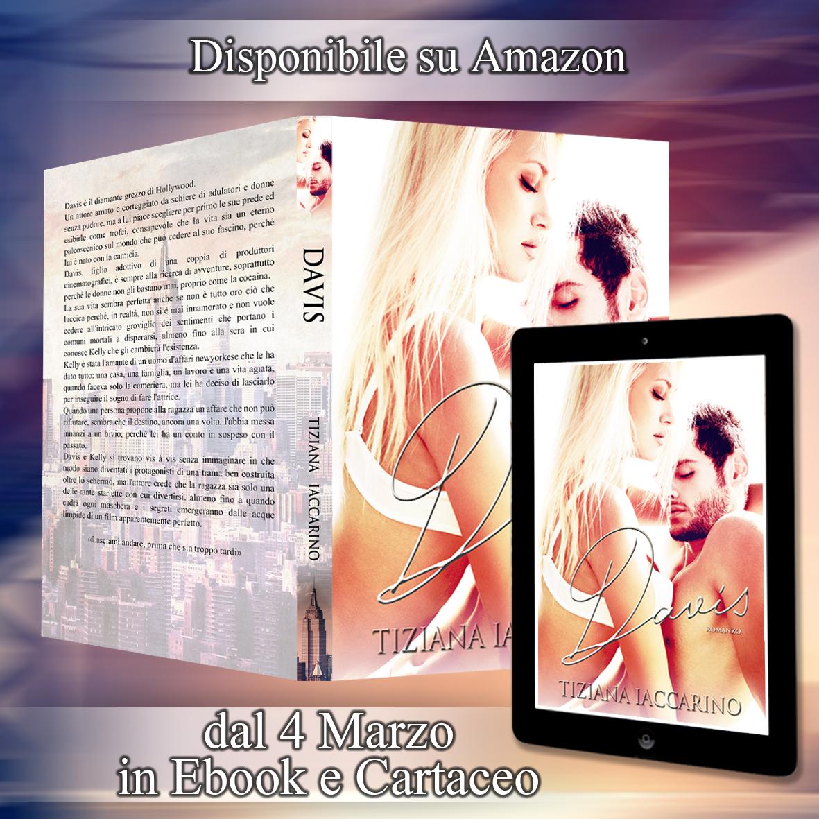 Cover Reveal. Davis di Tiziana Iaccarino
