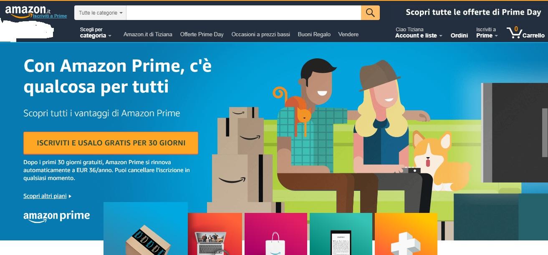 Amazon PRIME. Perchè abbonarsi e tante offerte