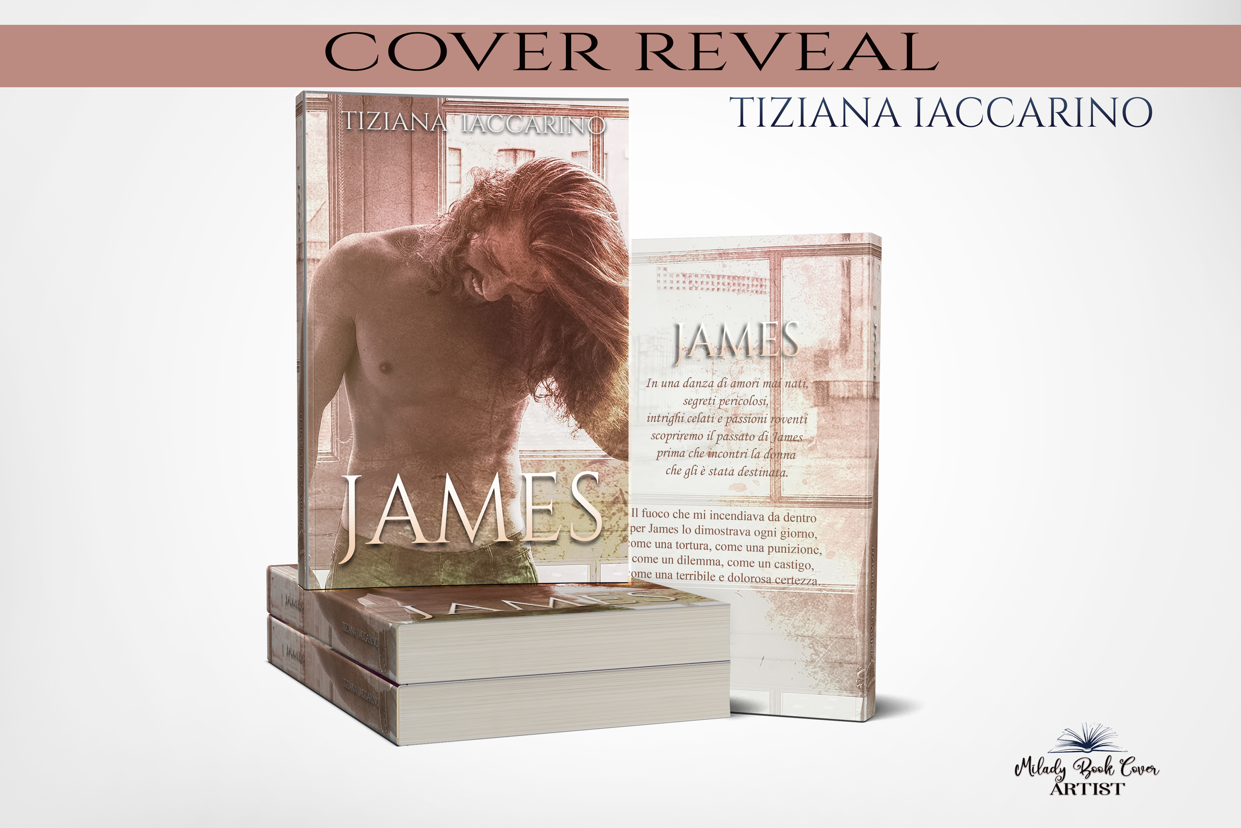 Cover Reveal. James di Tiziana Iaccarino