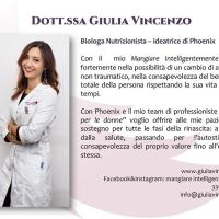 Intervista alla dottoressa nutrizionista Giulia Vincenzo