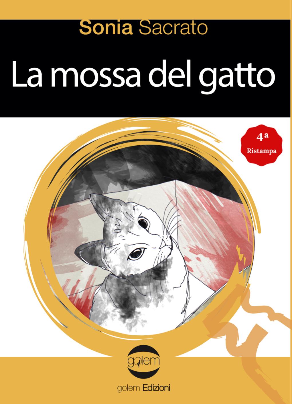 Libri in lettura. La mossa del gatto e Favola Imbandita. Golem Edizioni